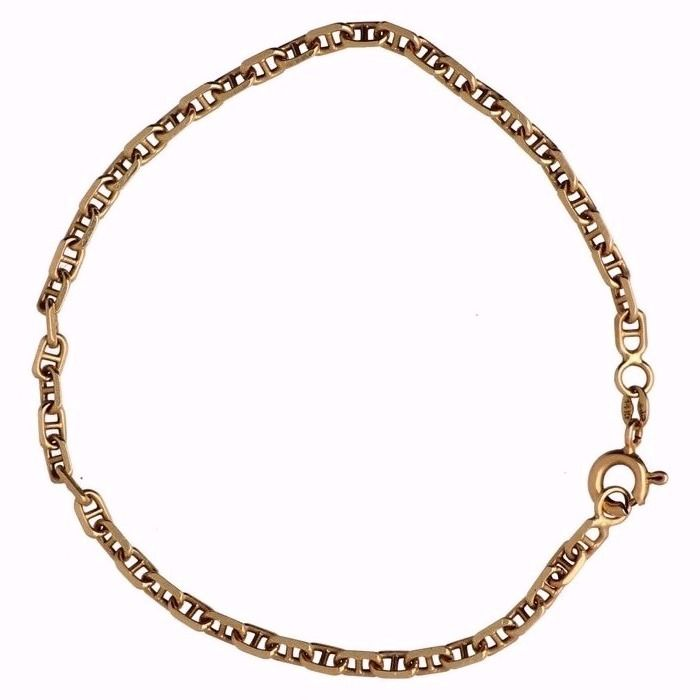 Yellow Gold Gucci Link Bracelet In 14 Kt 19 Cm Catawiki