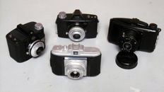 Collection of old and new (box) cameras