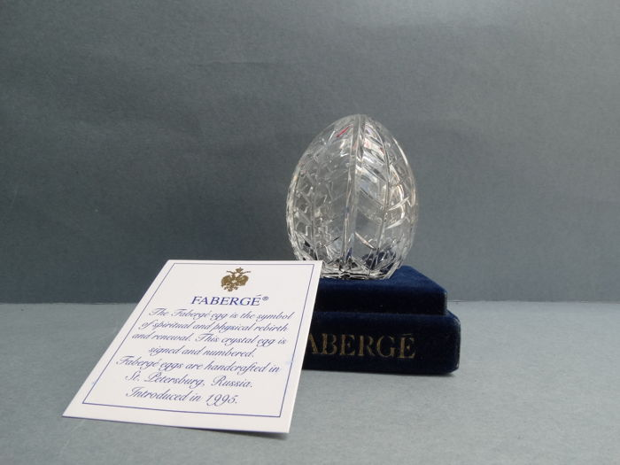Fabergé - Authentic Imperial Egg Fabergé -Crystal