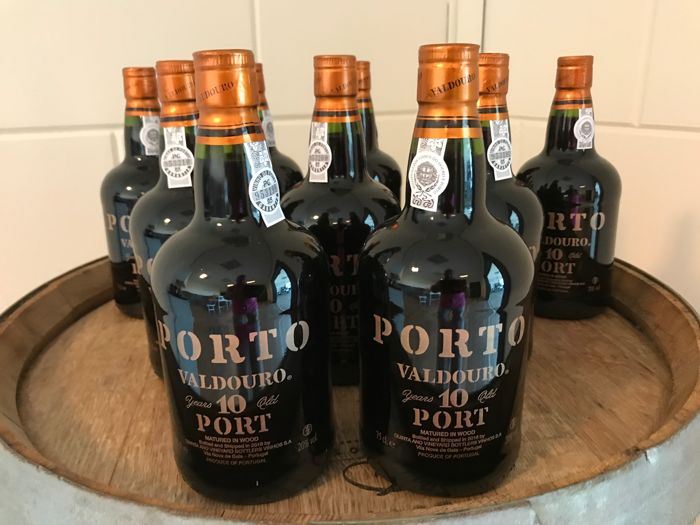 10 years old Tawny Port - Valdouro - 10 bottles