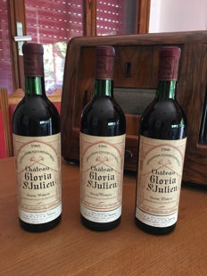 1966 Chateau Gloria, Saint-Julien - 3 bottles