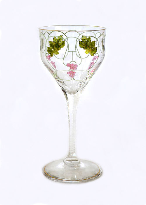 Jugendstil Wine Glass