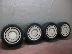 Zender alloy rims set of 4  14 inch 4x100 ET 33 perfect condition 1983 classic very rare