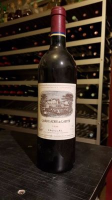 1996 Chateau Lafite Rothschild 'Carruades de Lafite', Pauillac - 1 bottle (75cl)