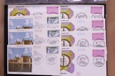 France 1962/1980 – Batch of 1,000 FDCs in box