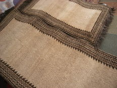 ALBANIA GEEBEH with certificate and seal, a set of 2 rugs 324 x 87 and 150 x 70 cm