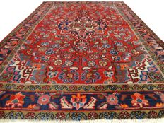 Hamadan - 201 x 137 cm - Persian carpet in beautiful condition - with certificate
