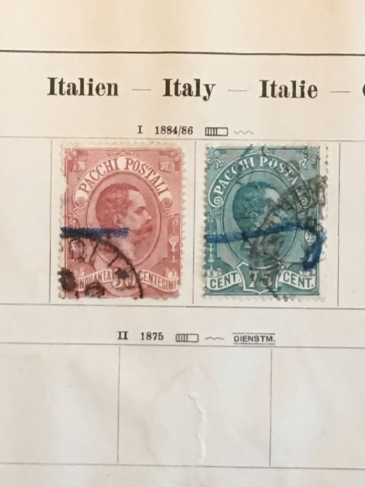 Italy, Vatican, San Marino 1880/2000 - Batch in 1 Binder, 3 stockbooks and many pages