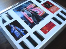 "Michael Jackson : This Is It - Framed Film Cell Montage Award ""The King of Pop"""