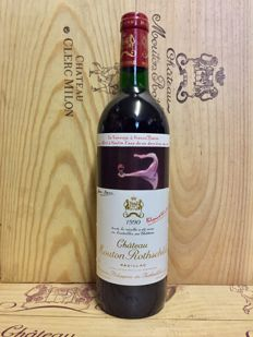 1990 Chateau Mouton Rothschild, Pauillac 1er Grand Cru Classé - 1 perfect bottle (75cl)