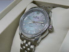 Davosa Ladies Automatic watch with real Diamonds and mother of pearl dial NEW