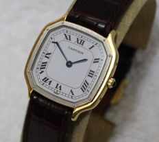 Cartier Paris Dumont 18k gold - Wristwatch - 1970's