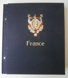 France 1849/1990 – Collection in standard Davo album
