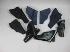 Lot of 8 revolver holsters