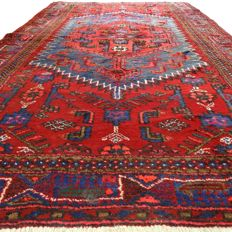 Hamadan - 228 x 137 cm - Persian rug in beautiful condition - with certificate