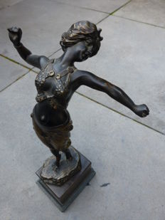 Philippe E. Hamburger - Bronze dancer