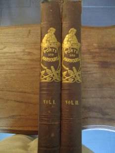 W.H. Bartlett - The ports, harbours, watering-places, and coast scenery of Great Britain - 2 volumes - 1844