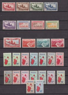 European Colonies 1924/1956 – Aerial Mail Set with complete series.