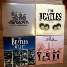 The Beatles collection || Lot of 4 Live Recordings ||