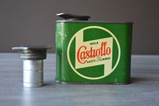Castrollo oil can - France - L 11.5 cm * W 6 cm * H 10.3 cm (including cap)