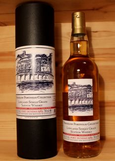 Port Dundas 1989/2016, Single Grain Scotch Whisky incl. Box,  Jack Wiebers, closed distillery