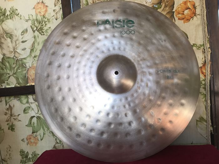 "Paiste 1000 - Power ride 22"" - serial no. 127353"