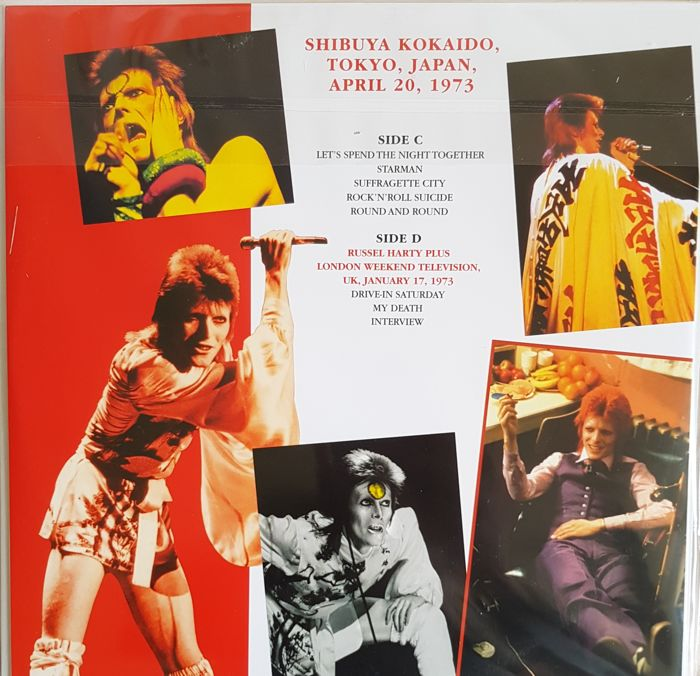 Image result for david bowie  in TOKYO