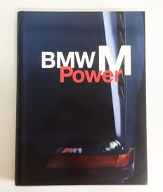 BMW M power ring binder bound book.