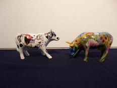 2 cows of the Cowparade