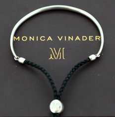 Monica Vinader - Solid 925 Silver Adjustable Ladies Bracelet, London 2011 - no reserve price