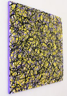 Alessandro Butera  - Violet yellow and black