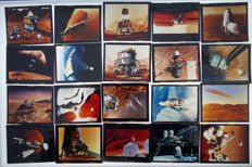 30 pictures Manned Mission to Mars - 6 x 7 cm Slides
