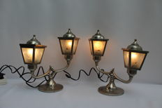 Set of table lamps.