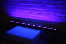 LED UV bar 18x3W