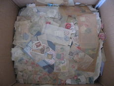 World - Large bulk of tens of thousands of mostly classic stamps