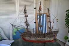 Boat model from the 16th century handmade in Spain?