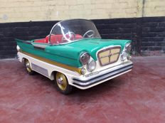 Autopède fairground car Dodge from the year 1963