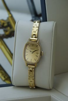 TISSOT  - Swiss Ladies' watch Full golg plated. Cal.:2413