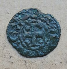 Portugal – Dinheiro – Afonso III (1248-1279) . Shifted Legend - Scarce