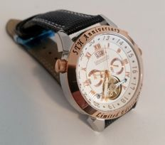"Calvaneo 1583 Astonia ""5th Anniversary Steel Rose Gold"" Limited Edition – men's wristwatch – 2017"