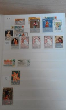 World – Collection on stock pages.