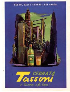 1954 advertising for Cedrata Tassoni - Disturbing fragrances - Original