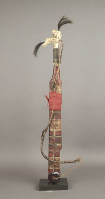 Mandau knife - Kalimantan - Indonesia - late 20th century