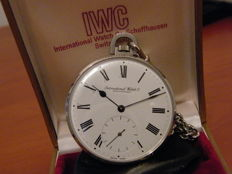 IWC Schaffhausen - pocket watch - ca 1960