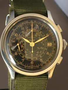 Tissot JANEIRO Z 199 Limited Edition Chronograph Pilot Men's Wristwatch - Approx. 90s