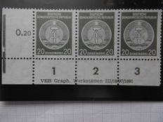 GDR 1954 – Michel official stamps A22