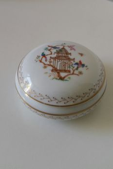 Tiffany & Co. Limoges porcelain jewellery box