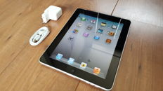 Apple iPad 1 (A1337), 64GB + 3G with new charger, etc.