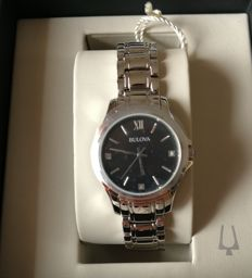 Bulova lady luxury diamond watch-Never worn.