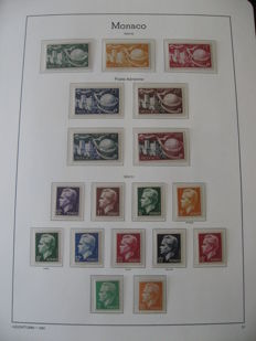Monaco 1950-1959 – Stamps including airmail